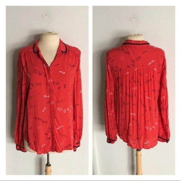 Anthropologie Tops - CLOSET CLOSING Maeve button down